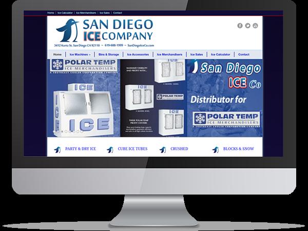 San Diego Ice Company by DDavisDesign Internet Marketing Tech Support