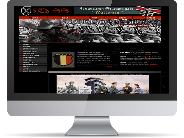 5th SS Freiwilligen Sturmbrigade Wallonien Regiment Realism Unit Steam Gaming by DDavisDesign Internet Marketing Tech Support