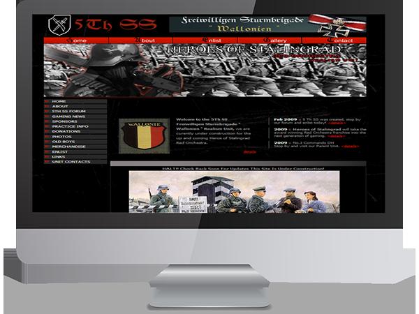 5th SS Freiwilligen Sturmbrigade Wallonien Regiment Realism Unit Steam Gaming by DDavisDesign Internet Marketing Tech Support
