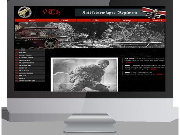 9th Fallfchirmjager Regiment Realism Unit Steam Gaming by DDavisDesign Internet Marketing Tech Support