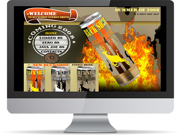 Buck Shot Energy Drink by DDavisDesign Internet Marketing Tech Support
