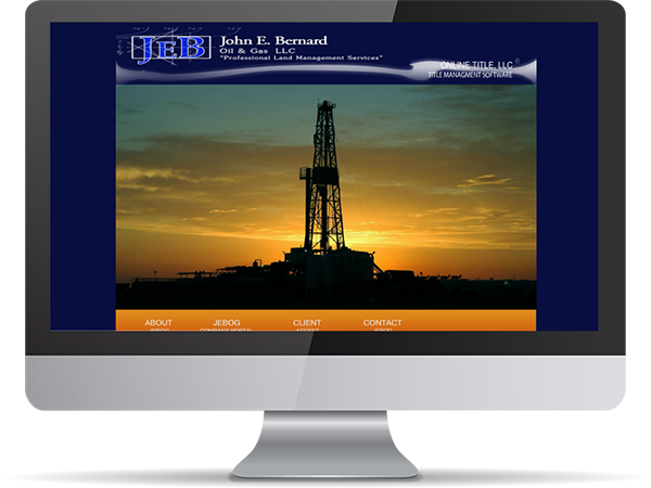 JEB John E. Bernard Oil & Gas LLC By DDavisDesign Internet Marketing Tech Support