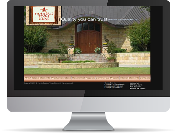 Hunters Texas Stone by DDavisDesign Internet Marketing Tech Support