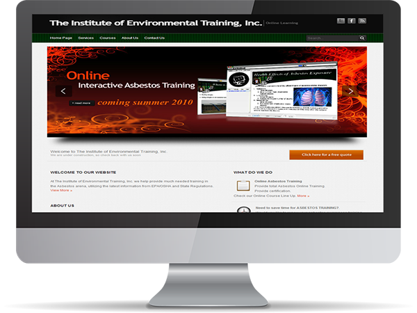 The Institute of Environmental Training, inc. by DDavisDesign Internet Marketing Tech Support