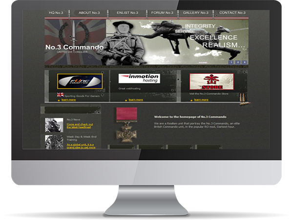 No.3 Command Realsim Unit Steam Gaming by DDavisDesign Internet Marketing Tech Support