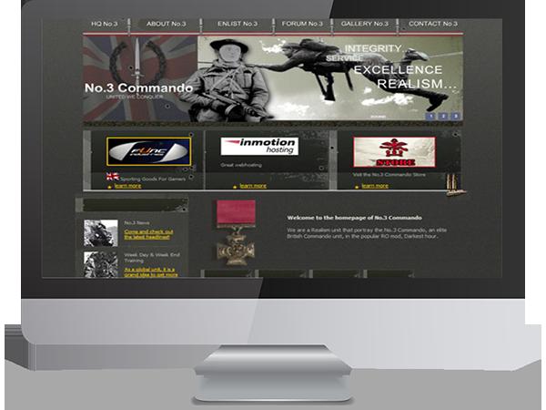 No.3 Command Realsim Unit Steam Gaming by DDavisDesign Internet Marketing Tech Support