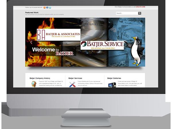 Batjer & Associates and Batjer Service Act Marketing by DDavisDesign Internet Marketing Tech Support