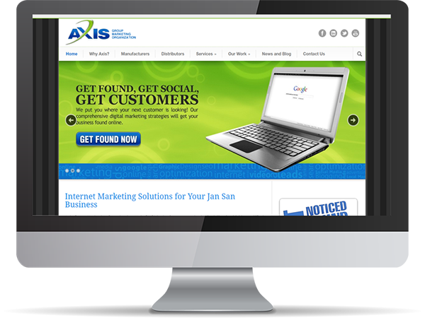 Axis Group Marketing Organization Vision Fillers by DDavisDesign Internet Marketing Tech Support