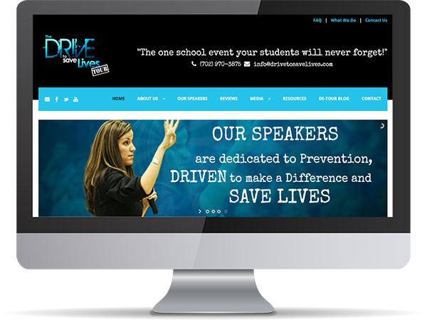 Drive To Save Lives Vision Fillers by DDavisDesign Internet Marketing Tech Support