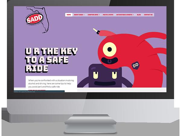 Florida SADD Vision Fillers DDavisDesign Internet Marketing Tech Support