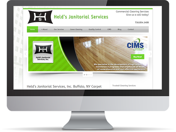 HJS Helds Janitorial Services Vision Fillers DDavisDesign Internet Marketing Tech Support